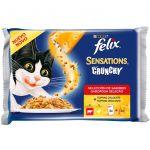 Felix Sensations Crunchy x3