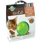 Nayeco Brinquedo Gato Bola Interativa para Comida Slimcat Orange