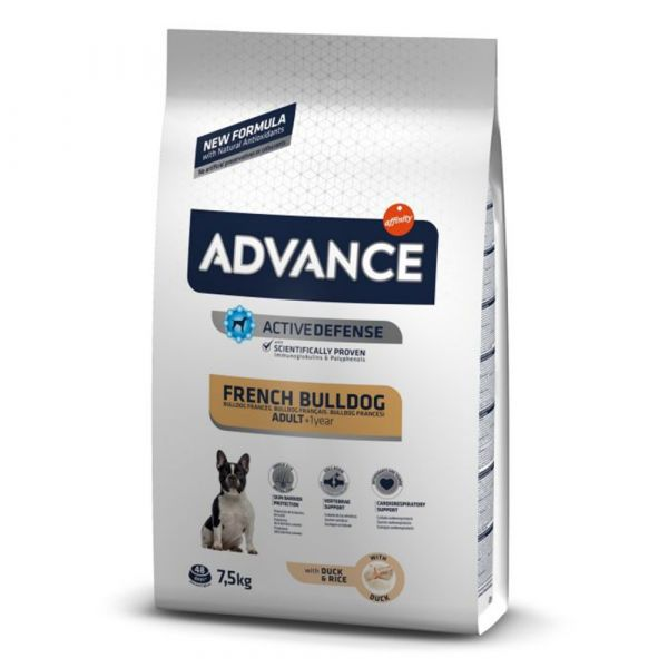 Ração Seca Advance Bulldog Francês Adult 7,5Kg