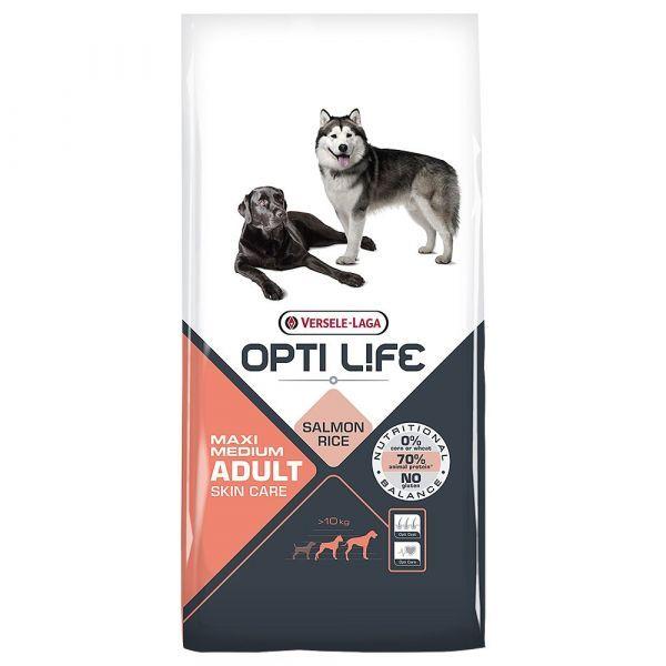 Ração Seca Versele Laga Opti-Life Salmon Medium Adult 12,5Kg