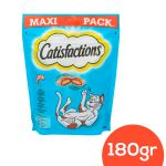 Catisfaction Snack Salmão Maxi Pack 180g