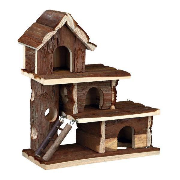 Trixie Casa Tammo em Madeira para Hamsters e Ratos