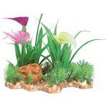 Trixie Planta Plástica em Leito de Areão 13cm