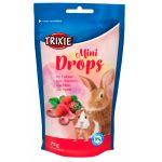 Trixie Mini Drops com Morango para Roedores
