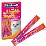 Vitakraft Cat Liquid Snack com Frango e Taurina 24 X 15 G