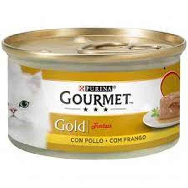Ração Húmida Purina Gourmet Gold Fondant Chicken Cat 85g