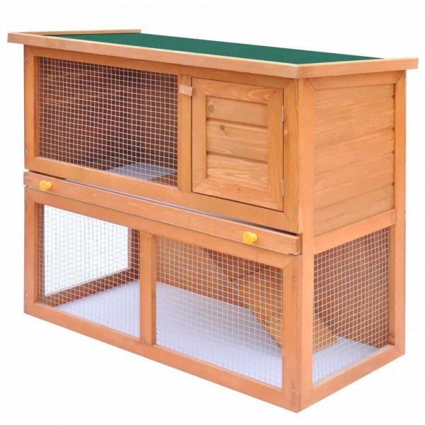 Coelheira para Animais Pequenos 1 Porta Madeira - 170158