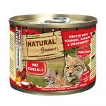 Ração Húmida Natural Greatness Chicken & Yogurt & Banana & Strawberries Cat 200g
