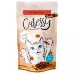 Catessy Crunchy Snacks Anti Bolas de Pelo Vaca e Malte 65g