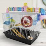 HomCom Gaiola para Hamster 62x29x52cm