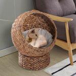 PawHut Cama Destacável para Gatos 42x33x52cm