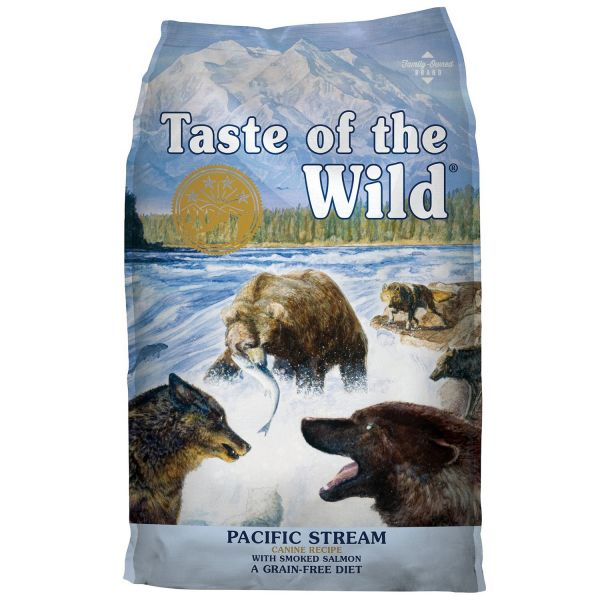 Ração Seca Taste of the Wild Pacific Stream Adult Smoked Salmon 12,2Kg