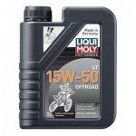Liqui Moly Óleo Motorbike 4T Offroad 15W50 1L
