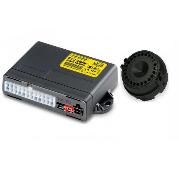 MetaSystem ABS15220-Alarme Modular EasyCan Digital Sirene WFR s/ fios auto-alimentada