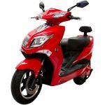 Citycoco Scooter Elétrica HAWK 1800W 72V 20Ah Vermelho