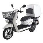 Sunra Scooter Elétrica Cagoo Matriculável 3000W (Branco) - SE53404