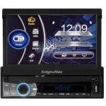"Kruger Matz Auto Rádio Tft 7"" (Bluetooth) Mp4/divx/mp3/jpg/usb/sd... - KM2005"