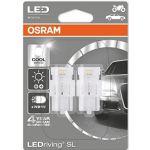 Osram 2x Lâmpadas Ledriving W21W W3x16d 6000k - 7706CW-02B