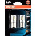 Osram 2x Lâmpadas Ledriving P21/5W BAY15d Laranja - 1457YE-02B