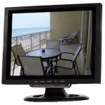"""Monitor Digital LCD-TFT Audio 12"""" 16:9 / 4:3 com Comando - MON10T1"""