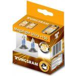 Tungsram H4 12v 60/55w Megalight Ultra +150 50440NXNU x 2un.