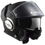 LS2 Capacete Valiant Solid Matt Black - XXL