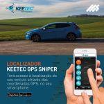 Localizador Gps Keetec Sniper com Aplicação Telemóvel