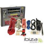Ibiza Kit De Cabos Auto Para Montagem De Amplificador/Colunas 60a