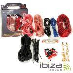 Ibiza Kit De Cabos Auto Para Montagem De Amplificador/Colunas 30a