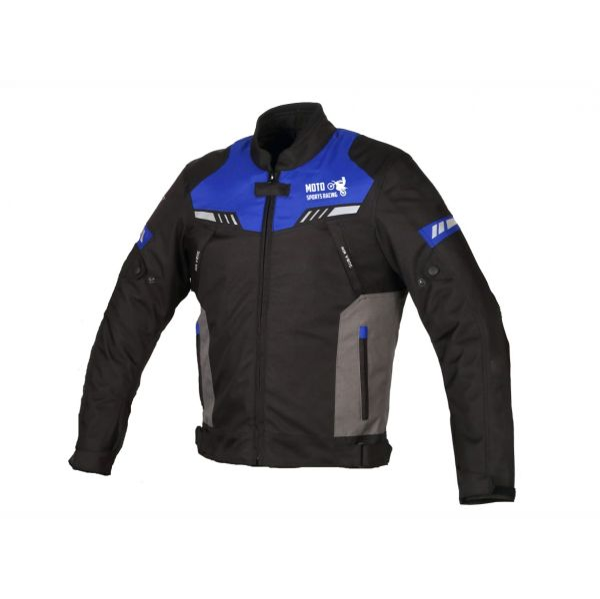 Msr Casaco Motard Azul XL (cintura 109 a 113 cm)