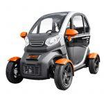 Kenwee Carro Elétrico Matriculável Lithium (Orange Edition) - KENWEE-LITHIUM-ORA