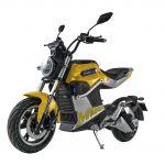 Sunra Scooter Elétrica Miku Super 125e 3000w 72v 40ah Dupla Bateria (amarelo) - 54433