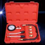 TSX 8 Pcs Compresimetro Gasolina Medidor de Compressão com Adaptadores