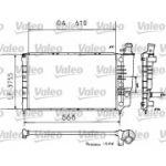 Valeo 810938 - Radiador, arrefecimento do motor - 3276428109381