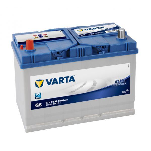 Varta Bateria Auto Blue Dynamic G8 12V 95Ah 830A Esquerda