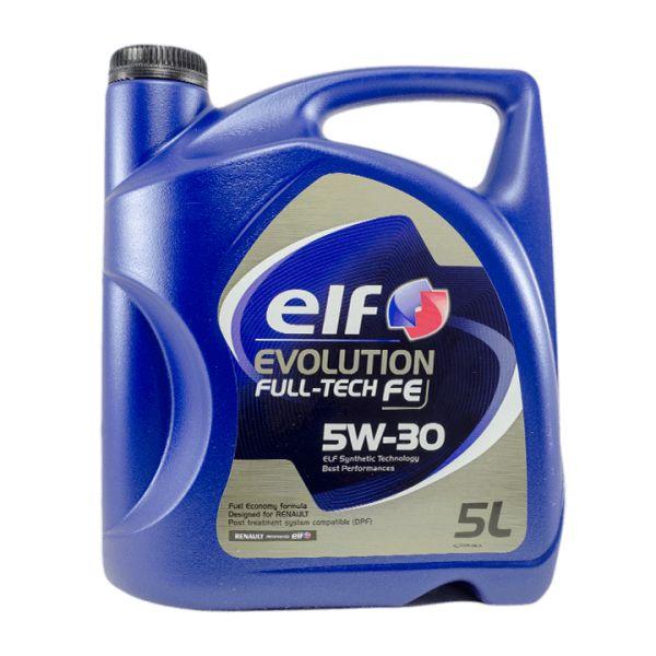 Elf Óleo Motor Evolution Full Tech FE 5W30 5L