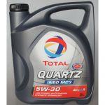 Total Óleo Motor Quartz Ineo MC3 5W30 5L