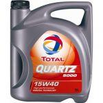 Total Óleo Motor Quartz 5000 15W40 5L