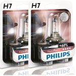 Philips 2x Lâmpadas Vision Plus +60% H7 12V 55W - 12972VPB1