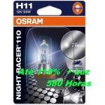 Osram Lâmpadas H11 Night Racer 110 - 64211NR1