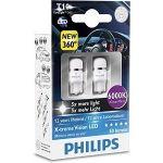 Philips Lâmpadas LED T10 W5W Xtreme Vision Ceralight 360 6000K