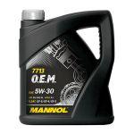 Mannol Óleo Motor 7713 OEM Hyundai Kia 5W30 4L