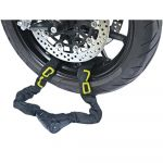 OJ Anti-roubo Chain Lock Black / Yellow Fluo