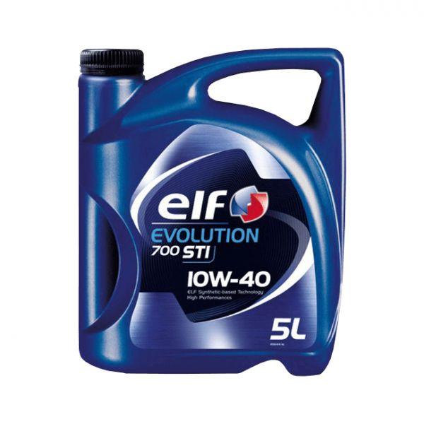 Elf Óleo Motor Evolution 700 STI 10W40 5L