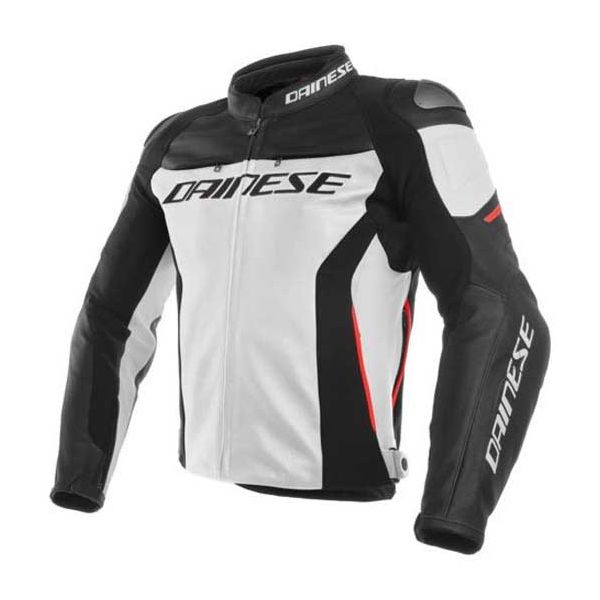 Dainese Casaco Racing 3 White Black Red