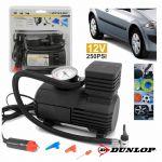 Dunlop Compressor de Ar C/ Acessórios 250PSI 12V - DUN298