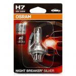 Osram Night Breaker Silver H7 12v 55w ( 2 Lâmpadas ) - 64210NBS - 02