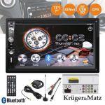 "Kruger & Matz Auto-Rádio 2DIN 7"" MP3 - KM2003.1"