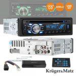 Kruger & Matz Auto-Rádio CD MP3 WMA - KM0104