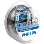 Philips 4x Lâmpadas WhiteVision Ultra H7 + W5W - 12972WVUSM